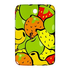 Digitally Created Funky Fruit Wallpaper Samsung Galaxy Note 8 0 N5100 Hardshell Case  by Nexatart