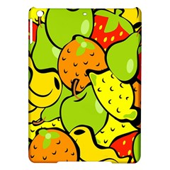 Digitally Created Funky Fruit Wallpaper Ipad Air Hardshell Cases by Nexatart
