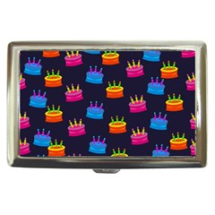 A Tilable Birthday Cake Party Background Cigarette Money Cases