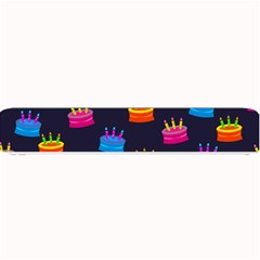 A Tilable Birthday Cake Party Background Small Bar Mats