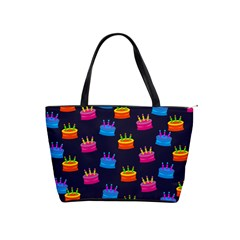 A Tilable Birthday Cake Party Background Shoulder Handbags by Nexatart