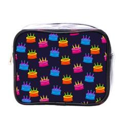 A Tilable Birthday Cake Party Background Mini Toiletries Bags