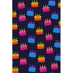 A Tilable Birthday Cake Party Background 5 5  X 8 5  Notebooks by Nexatart