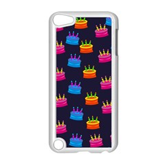 A Tilable Birthday Cake Party Background Apple Ipod Touch 5 Case (white) by Nexatart