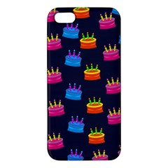 A Tilable Birthday Cake Party Background Apple Iphone 5 Premium Hardshell Case