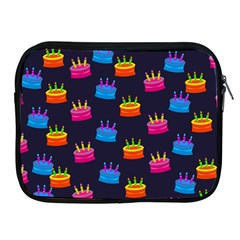 A Tilable Birthday Cake Party Background Apple Ipad 2/3/4 Zipper Cases