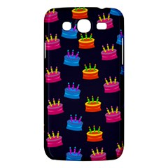 A Tilable Birthday Cake Party Background Samsung Galaxy Mega 5 8 I9152 Hardshell Case