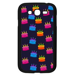 A Tilable Birthday Cake Party Background Samsung Galaxy Grand DUOS I9082 Case (Black) by Nexatart