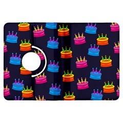 A Tilable Birthday Cake Party Background Kindle Fire Hdx Flip 360 Case