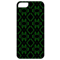Green Black Pattern Abstract Apple Iphone 5 Classic Hardshell Case