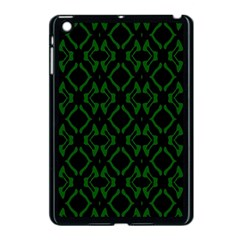 Green Black Pattern Abstract Apple Ipad Mini Case (black)