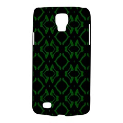 Green Black Pattern Abstract Galaxy S4 Active