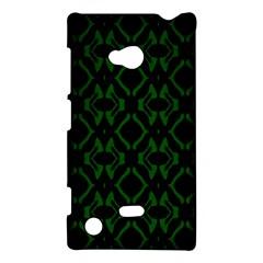 Green Black Pattern Abstract Nokia Lumia 720