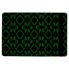 Green Black Pattern Abstract Ipad Air Flip