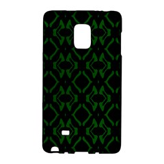 Green Black Pattern Abstract Galaxy Note Edge