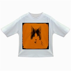 Cat Graphic Art Infant/toddler T Shirts