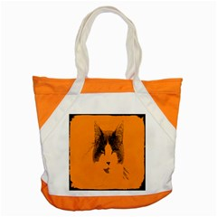 Cat Graphic Art Accent Tote Bag by Nexatart
