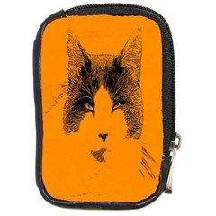 Cat Graphic Art Compact Camera Cases by Nexatart