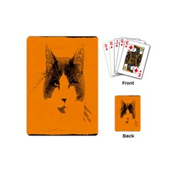 Cat Graphic Art Playing Cards (Mini)