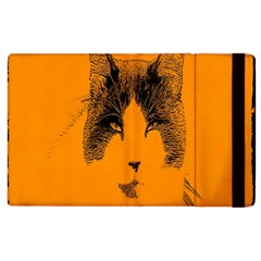 Cat Graphic Art Apple Ipad 3/4 Flip Case by Nexatart