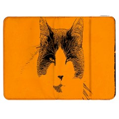 Cat Graphic Art Samsung Galaxy Tab 7  P1000 Flip Case