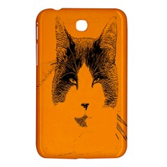 Cat Graphic Art Samsung Galaxy Tab 3 (7 ) P3200 Hardshell Case  by Nexatart