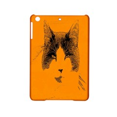 Cat Graphic Art Ipad Mini 2 Hardshell Cases by Nexatart
