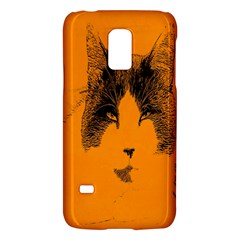 Cat Graphic Art Galaxy S5 Mini