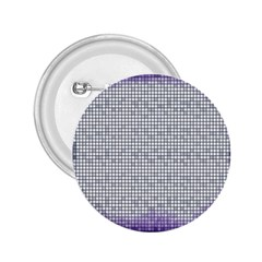 Purple Square Frame With Mosaic Pattern 2 25  Buttons by Nexatart