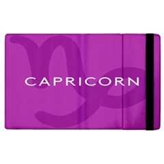 Zodiac Capricorn Purple Apple Ipad 3/4 Flip Case by Mariart