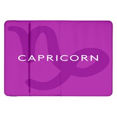 Zodiac Capricorn Purple Samsung Galaxy Tab 8 9  P7300 Flip Case by Mariart