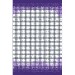 Purple Square Frame With Mosaic Pattern 5 5  X 8 5  Notebooks by Nexatart