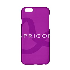 Zodiac Capricorn Purple Apple Iphone 6/6s Hardshell Case by Mariart