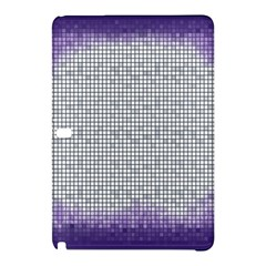 Purple Square Frame With Mosaic Pattern Samsung Galaxy Tab Pro 10 1 Hardshell Case by Nexatart