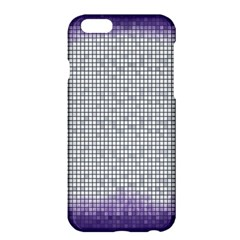 Purple Square Frame With Mosaic Pattern Apple Iphone 6 Plus/6s Plus Hardshell Case by Nexatart