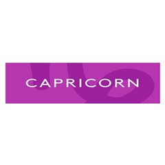 Zodiac Capricorn Purple Satin Scarf (oblong) by Mariart
