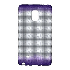 Purple Square Frame With Mosaic Pattern Galaxy Note Edge by Nexatart