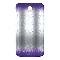 Purple Square Frame With Mosaic Pattern Samsung Galaxy Mega I9200 Hardshell Back Case by Nexatart