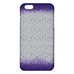 Purple Square Frame With Mosaic Pattern Iphone 6 Plus/6s Plus Tpu Case by Nexatart