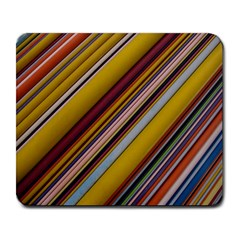 Colourful Lines Large Mousepads by Nexatart
