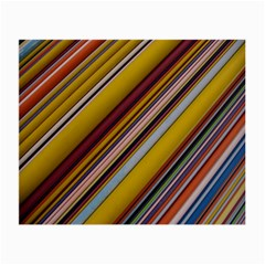Colourful Lines Small Glasses Cloth by Nexatart