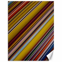 Colourful Lines Canvas 18  X 24