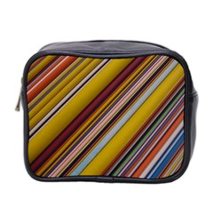 Colourful Lines Mini Toiletries Bag 2 Side