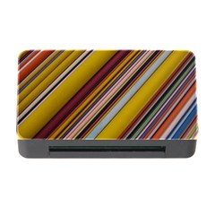 Colourful Lines Memory Card Reader With Cf by Nexatart
