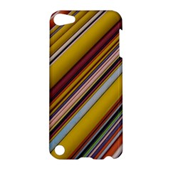 Colourful Lines Apple Ipod Touch 5 Hardshell Case by Nexatart