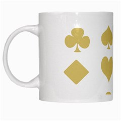 Card Symbols White Mugs by Mariart