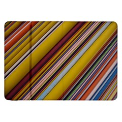 Colourful Lines Samsung Galaxy Tab 8 9  P7300 Flip Case