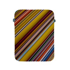 Colourful Lines Apple Ipad 2/3/4 Protective Soft Cases by Nexatart