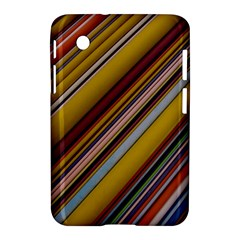 Colourful Lines Samsung Galaxy Tab 2 (7 ) P3100 Hardshell Case