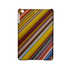 Colourful Lines Ipad Mini 2 Hardshell Cases by Nexatart